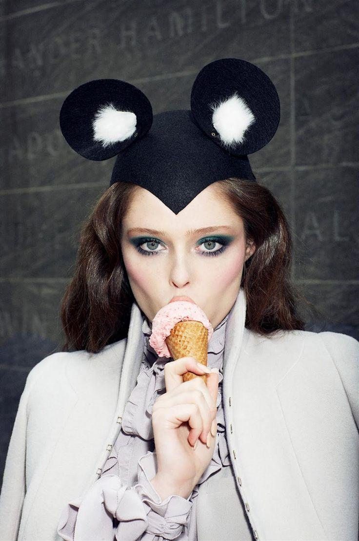 """Morning Beauty""   Model: Coco Rocha, Photographer: Arthur Elgort, Vogue Japan, August 2008"