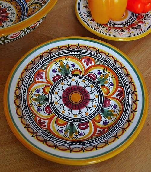Lunch Plate Sevilla Collection - 9.5 Inches | Qualia Gourmet