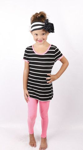 Silly Stripes: Black