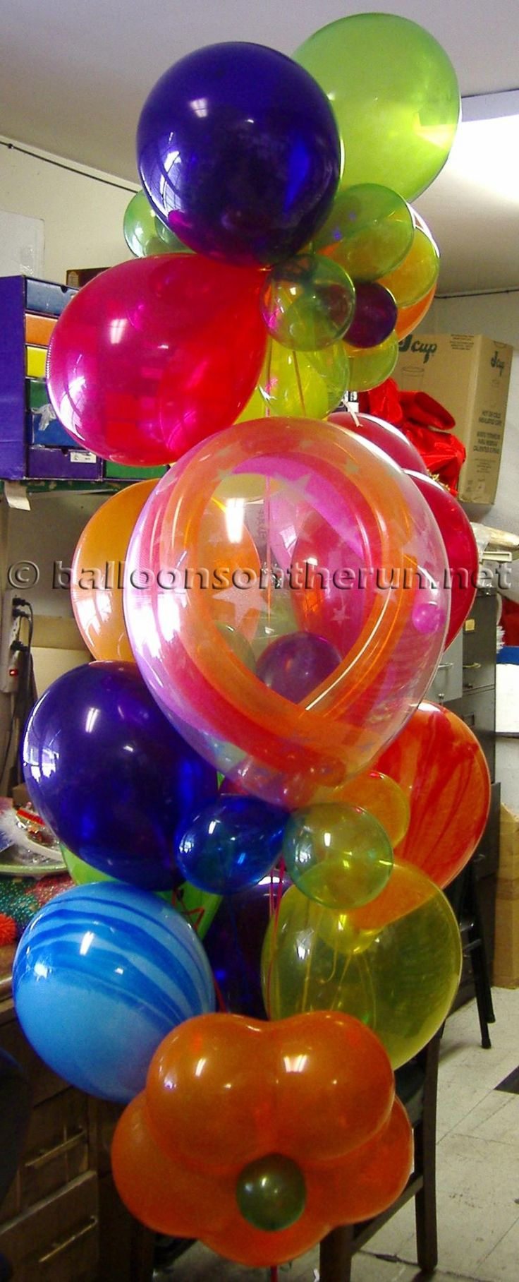 how to make balloon bouquets ideas