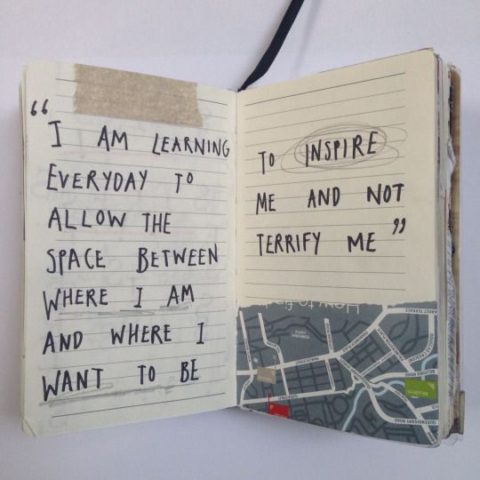 cait mceniff #art #journal #quote                                                                                                                                                                                 More