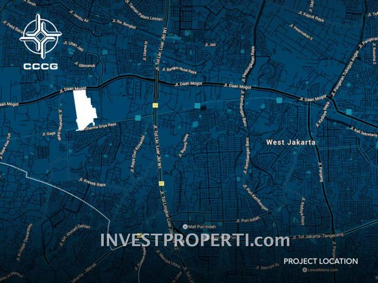 Lokasi Daan Mogot City superblock #daanmogotcity