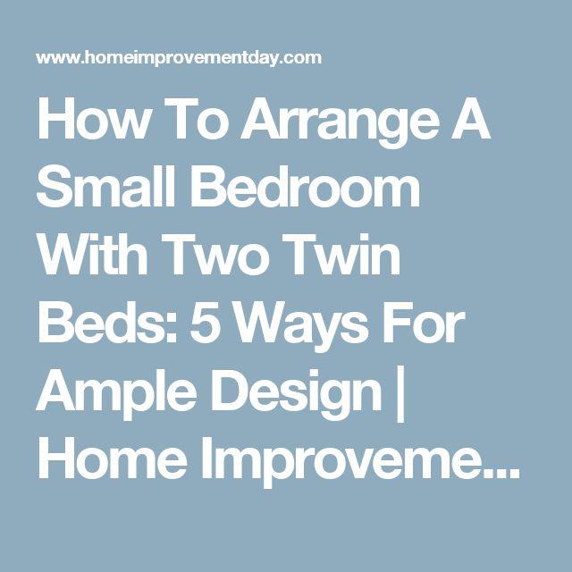 How To Arrange A Bedroom Fair Design 2018