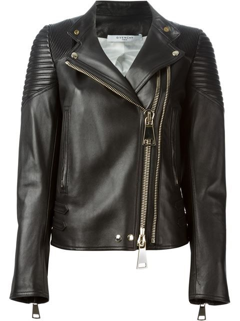Achetez Givenchy veste de moto classique en O' from the world's best independent boutiques at farfetch.com. Over 1000 designers from 300 boutiques in one website.