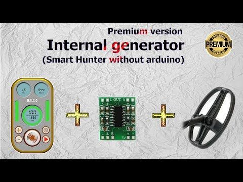 This Vlf Metal Detector Based On An Arduino And A Smartphone Just Follow Step By Step The Video Tutorials And You Will Able To Make Metal Detector Smart Hunter