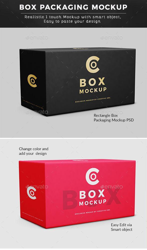Download Rectangle Box Mockup Box Mockup Mockup Mockup Design