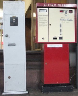 Automat biletowy fot. Przewozy Regionalne