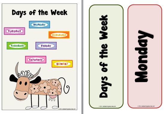 Days of the Week | Label Cards | Poem. This resource contains a days of the week poster, word labels and a fun poem called Solomon Grundy.