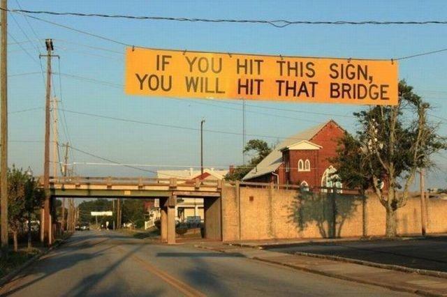 Funny Road Signs http://www.rchillmitsubishi.com/