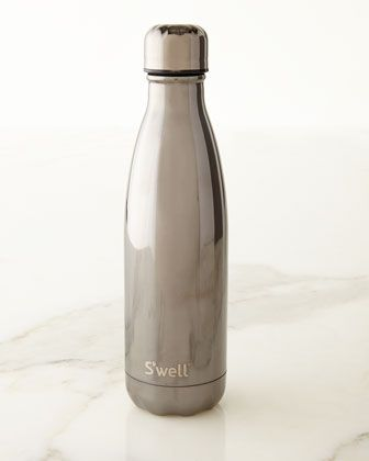 Titanium+Metallic+17-oz.+Reusable+Bottle+by+S\'well+at+Neiman+Marcus.