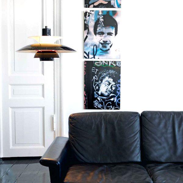 PH 50 Olive Black - Louis Poulsen   Designzoo   www.designzoo.pl