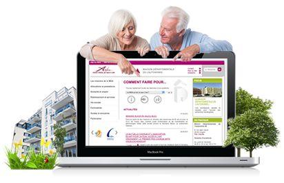 Création en Typo3 d'un site web pour la Maison Départementale de l'autonomie de Maine-et-Loire...