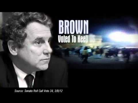 """""""A Vote Against American Energy Security"""" from the U.S. Chamber of Commerce opposes Sen. Sherrod Brown, D-Ohio. 9/18/12"""