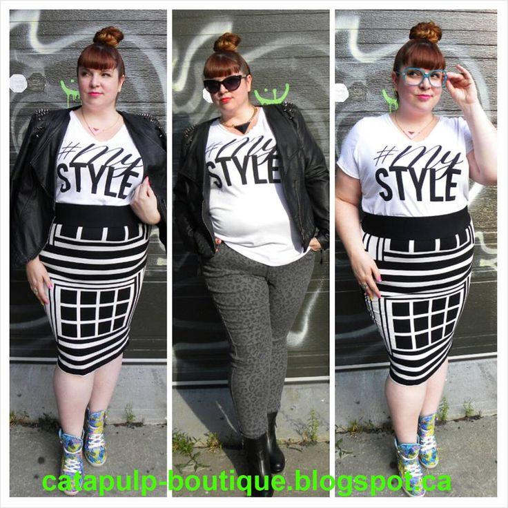 T-shirt #MyStyle 23$  Grandeur/sizes:1x,2x,3x,4x