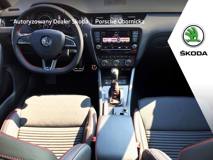 Skoda Octavia RS Combi interior