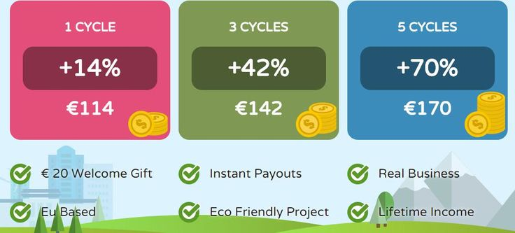 """GO GREEN !!! And Earn Money. Earn money with a real company. """"Recyclix implements and controls various investment projects in Europe and has its head office located in Warsaw. In the near future we are planning to broaden our influence in other countries too. We have been collaborating with leading international companies engaged in production and recycling of plastic for a long time"""" Why not invest in real business? Get your 20E sign up bonus. https://recyclix.com/?id=gYgg1AAMAxkffEx"""