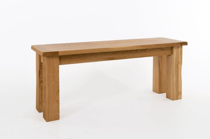 Westbury Oak Small Bench - Westbury oak furniture is crafted from the highest quality solid oak and finished with a resilient satin lacquer and classically styled metal handles. Solidly built with dovetailed drawers, solid oak drawer bases and cabinet backs this rustic range is built to last. With the exception of the dining table, all items in the Westbury oak range are delivered fully assembled and ready to enhance your room.