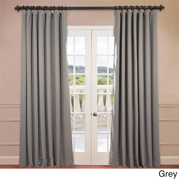 extra wide thermal blackout 108inch curtain panel overstock shopping great deals