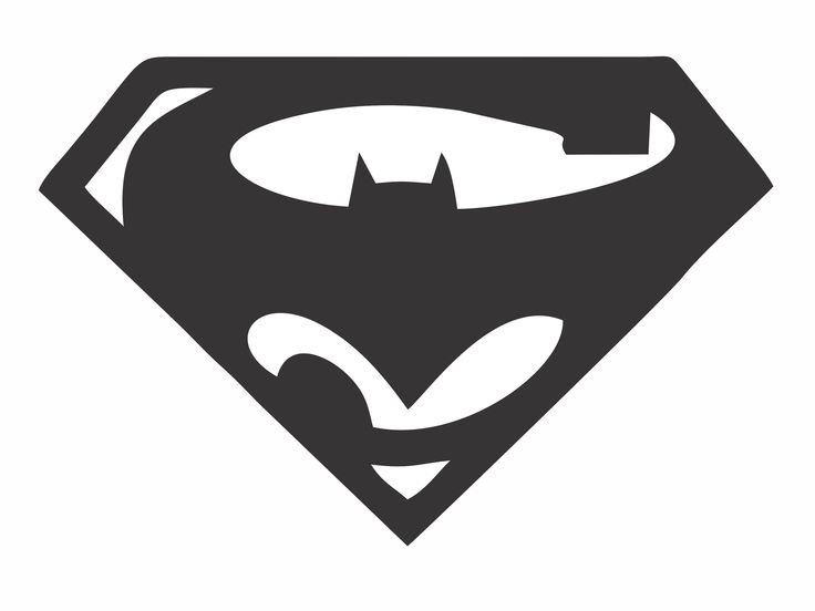 Superman batman die cut vinyl decal for windows vehicle windows vehicle body surfaces or just about any surface that is smooth and clean