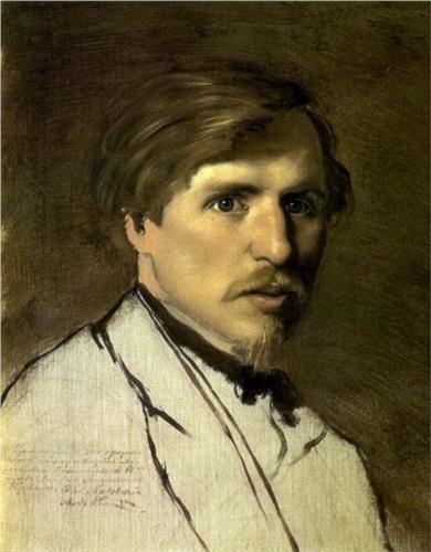 Portrait of the Artist Illarion Prianishnikov - Vasily Perov