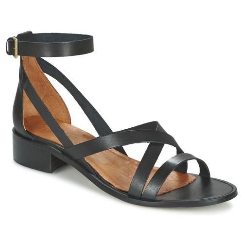 Casual Attitude COUTIL Noir - Livraison Gratuite avec Spartoo.com ! - Chaussures Sandale Femme 55,99 €
