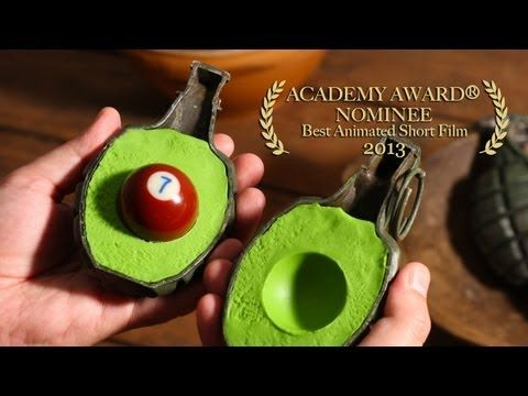 French Guacamole by PES. Fantastic stop-motion film turns common objects into delicious guacamole