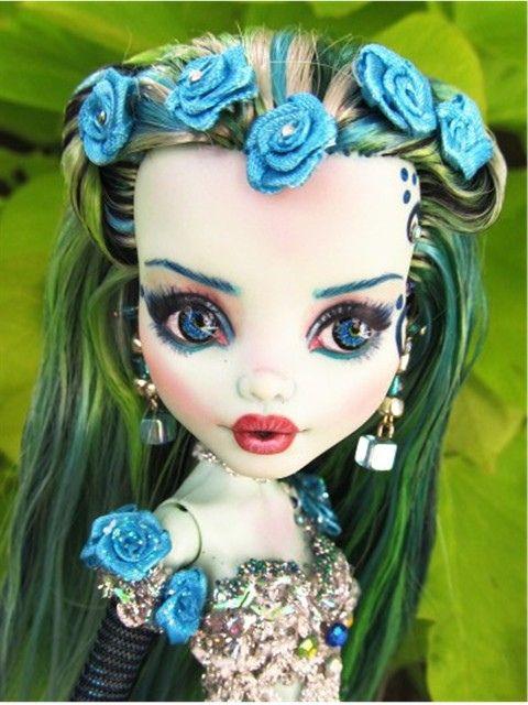 Loralie- Frankie Monster High custom OOAK Mermaid doll | Flickr - Photo Sharing!