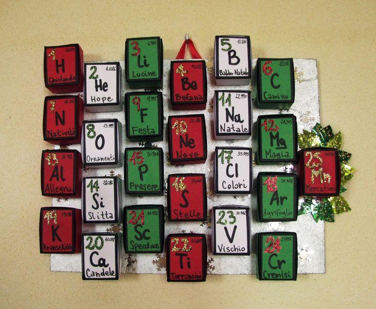 """""""Periodic"""" Advent calendar"""