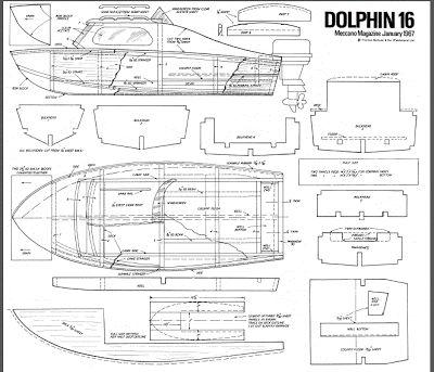 Quinze marins sur le bahut du mort...: Plan bateau pêche promenade Dolphin
