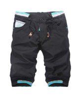 Men's Casual Stylish Summer Beach Elastic Waist Sport Shorts Short Jogger Pant - Visit to see more options