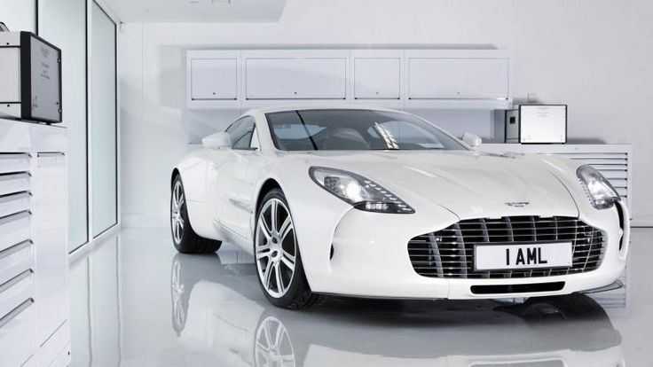 Aston Martin One 77 White