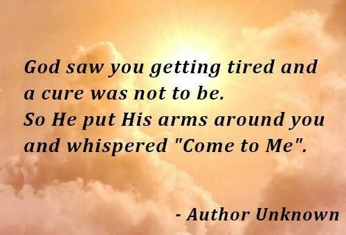 God Saw You Getting Tired.