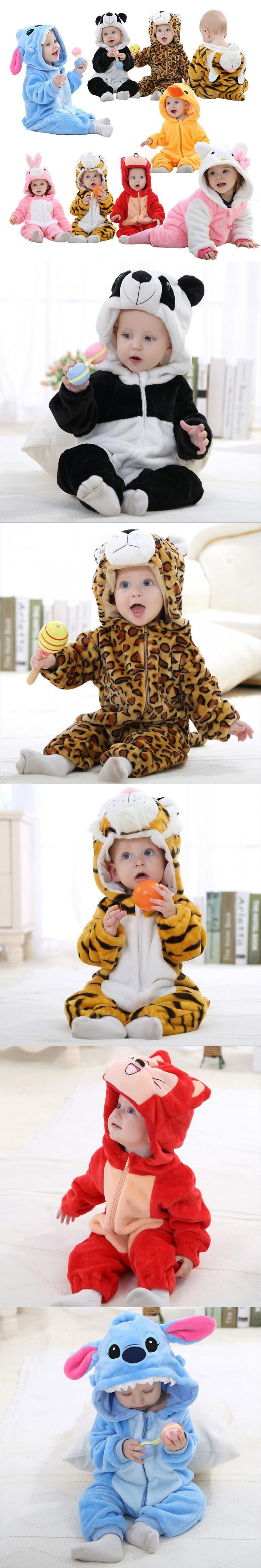 Baby rompers Hello kitty baby boys girls clothing new born baby clothes winter Jumpsuit christmas roupa de bebe recem nascido $15.98