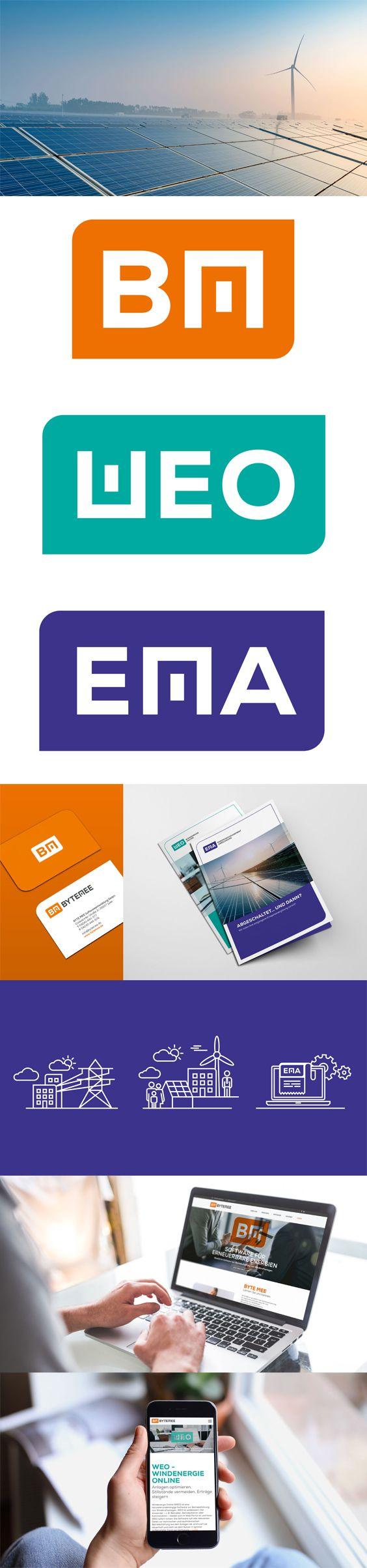 Mit #Windenergie volle #Kraft voraus #Redesign & neue #Website für BYTE MEE Auf Basis eines Marken-Workshops wurden das vorhandene Firmen-Logo sowie zwei Produkt-#Logos überarbeitet und auf das Wesentliche reduziert. Farben und Formen wurden weitergeführt, damit der Wiedererkennungswert erhalten blieb. Im Zuge des Redesigns entwickelte moskito eine klar strukturierte BYTE MEE-Website im neuen Corporate #Design und neue #Landingpages für die Softwarelösungen WEO und EMA.