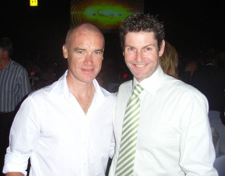 Stuart O'Grady cyclist - The legend in Australia cycling. Health Celebrities with Cameron Corish.