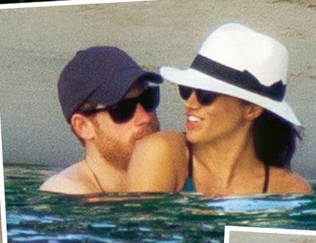 "belgianeyes: "" Prince Harry and Meghan Markle in Jamaica """
