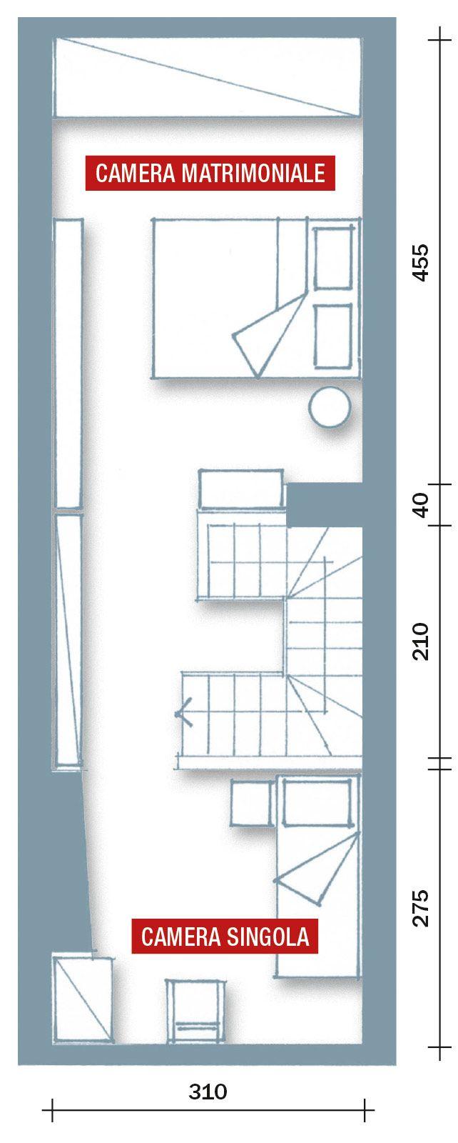 Oltre 25 fantastiche idee su casa stretta su pinterest for Piani di progettazione di piccole case