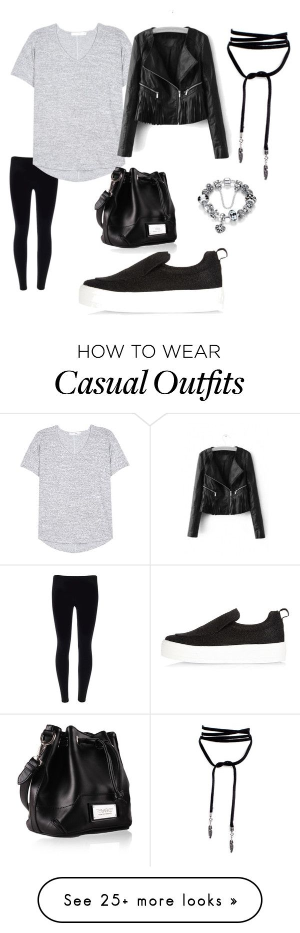 """""""Casual"""" by judie-h-simpson on Polyvore featuring rag & bone and River Island"""