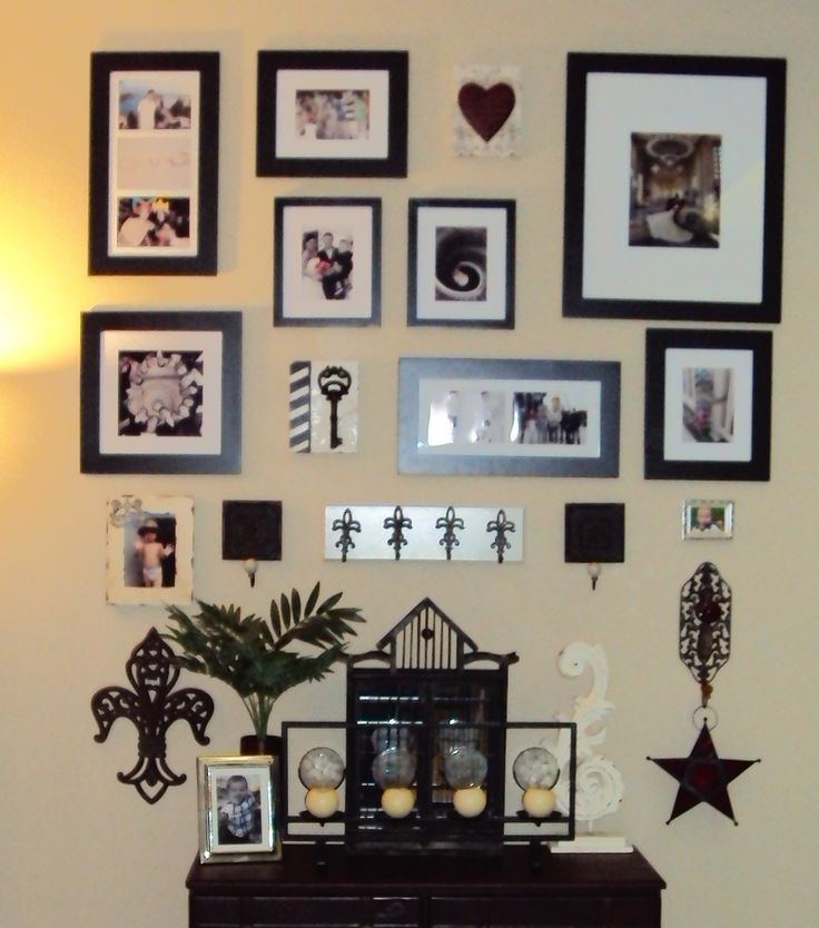 36 besten Fotowände Bilder auf Pinterest | Wohnen, Bilderwand und ...