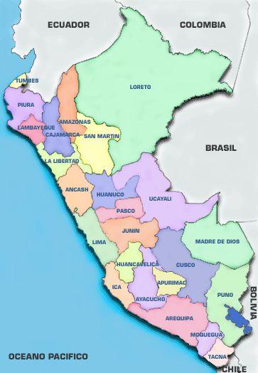 Peru info & map- go2peru.travel