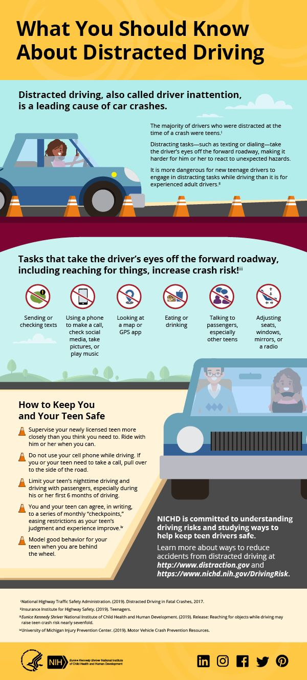 Infographic Distracted Driving Is A Leading Cause Of Motor