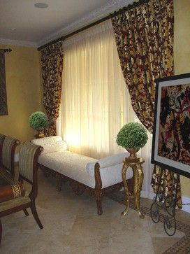Dining Room Elegant Window Treatment Curtain Ideas: elegant window treatment ideas