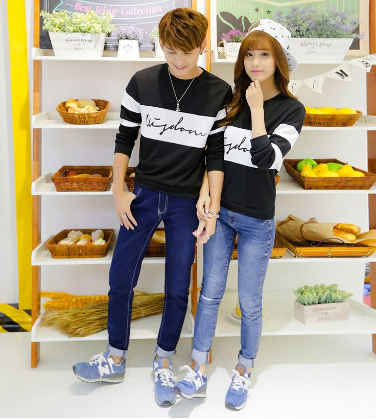 Find More T-Shirts Information about Autumn spring korean couple shirts with message long sleeves couple clothes couples matching clothing for couples T858,High Quality shirt dresses for work,China shirt card Suppliers, Cheap shirt buyer from Kibela on Aliexpress.com