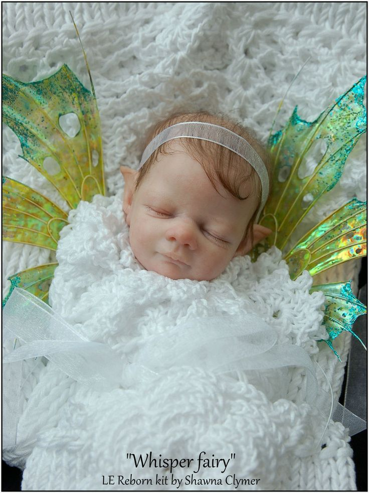 """NEW 11"""" Fairy reborn kit for May 2014"""