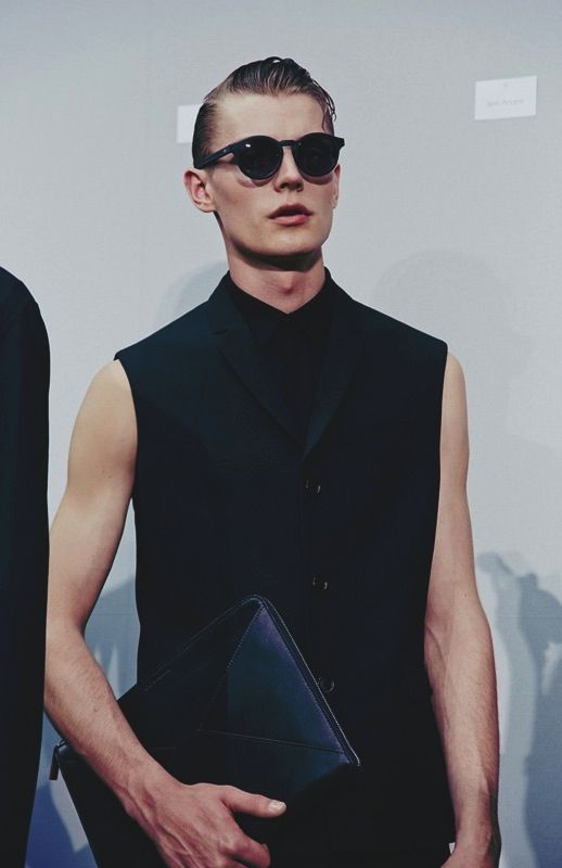 Janis Ancens by Lea Colombo - Backstage at Dior Homme SS14