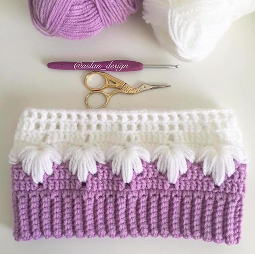 How to run step by step blanket crochet Gota D'Agua