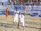 Euro Beach Soccer League: #Olanda vs #Italia: esultanza Feudi