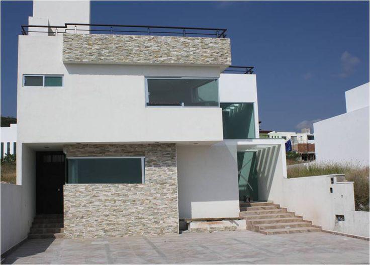68 best fachadas de casas images on pinterest modern - Construccion casas ...