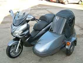 Hahaha, just enough room in the sidecar for my favorite cousin! @Brandi Johnson