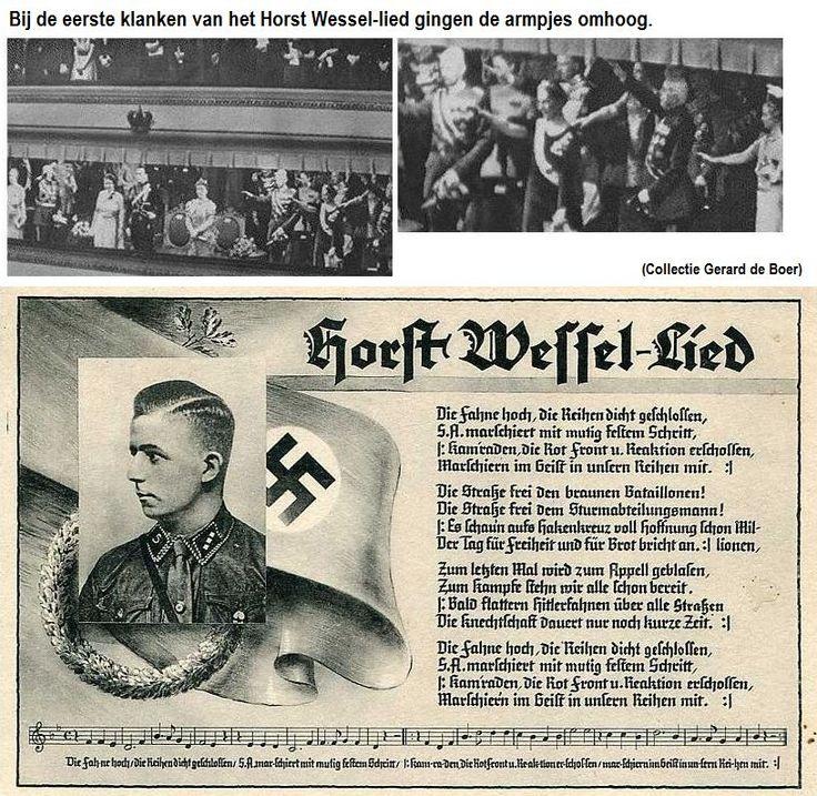 Koningin Wilhelmina ontsloeg haar vaste dirigent omdat hij principieel weigerde het Nazi-lied te dirigeren.